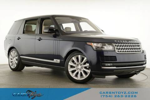 2016 Land Rover Range Rover for sale at JumboAutoGroup.com - Carsntoyz.com in Hollywood FL