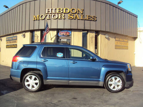 2017 GMC Terrain for sale at Hibdon Motor Sales in Clinton Township MI