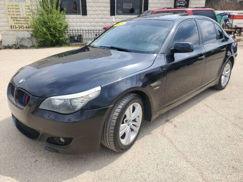 2010 BMW 5 Series for sale at AMAZING AUTO SALES in Marengo IL