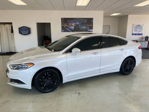 2018 Ford Fusion for sale at Used Car Outlet in Bloomington IL