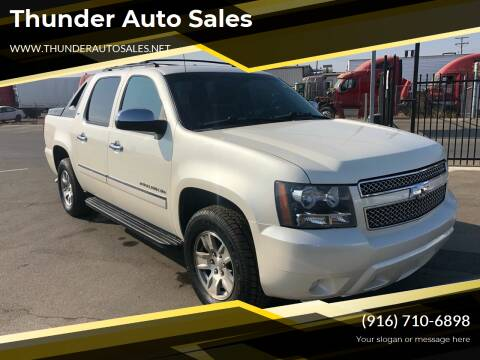 2010 Chevrolet Avalanche for sale at Thunder Auto Sales in Sacramento CA