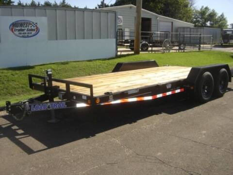 2021 83 X 18  LOAD TRAIL MED DUTY HAULER for sale at Midwest Trailer Sales & Service in Agra KS