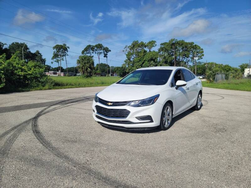 2017 Chevrolet Cruze for sale at FLORIDA USED CARS INC in Fort Myers FL