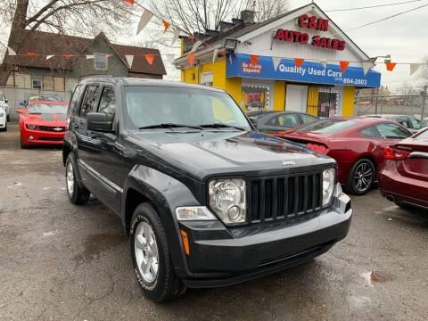 2010 Jeep Liberty for sale at C & M Auto Sales in Detroit MI