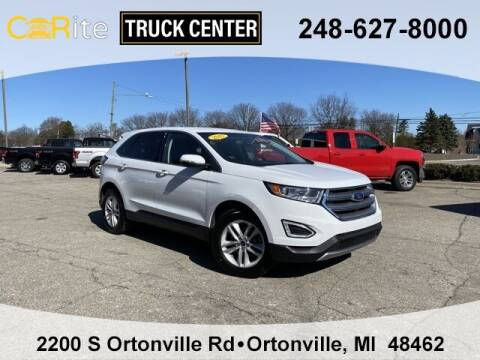 2017 Ford Edge for sale at Carite Truck Center in Ortonville MI