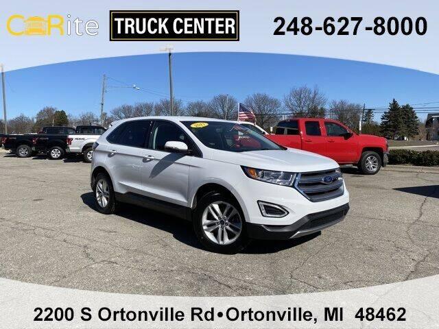 2017 Ford Edge for sale at Carite Truck Center in Ortonville MI