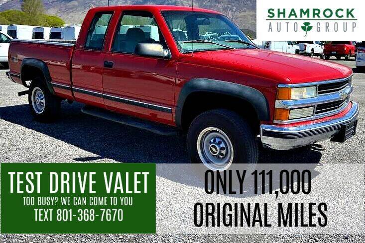 1997 Chevrolet C/K 2500 Series for sale at Shamrock Group LLC #1 in Pleasant Grove UT