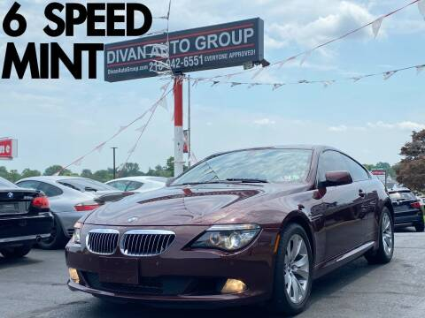 2008 BMW 6 Series for sale at Divan Auto Group in Feasterville Trevose PA