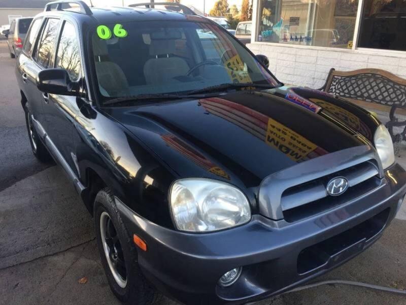 2006 Hyundai Santa Fe for sale at MQM Auto Sales in Nampa ID
