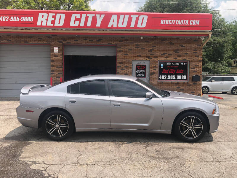 2014 Dodge Charger for sale at Red City  Auto in Omaha NE