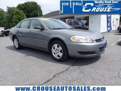 2007 Chevrolet Impala for sale at Joe and Paul Crouse Inc. in Columbia PA