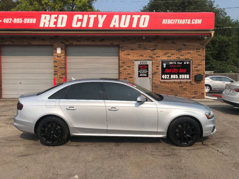 2014 Audi A4 for sale at Red City  Auto in Omaha NE