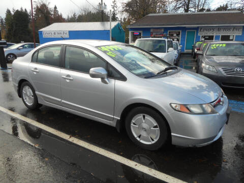 2007 Honda Civic for sale at Lino's Autos Inc in Vancouver WA