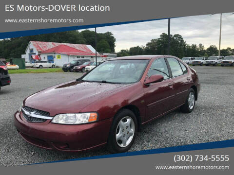 2001 Nissan Altima for sale at ES Motors-DAGSBORO location - Dover in Dover DE