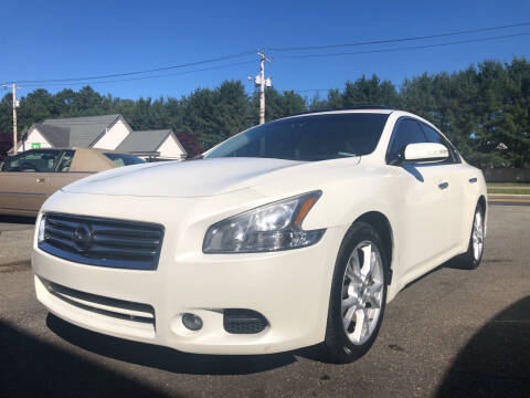 2014 Nissan Maxima for sale at Beachside Motors, Inc. in Ludlow MA