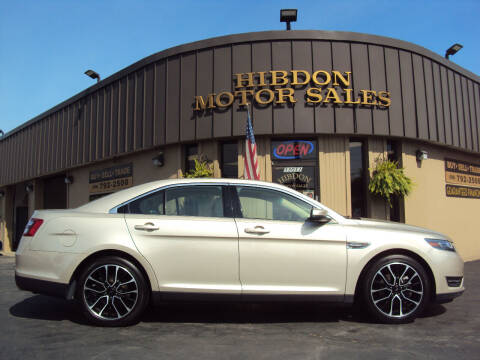2017 Ford Taurus for sale at Hibdon Motor Sales in Clinton Township MI
