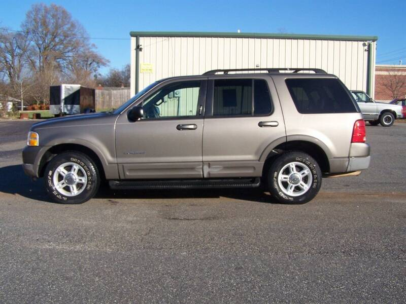 2002 Ford Explorer for sale at Darin Grooms Auto Sales in Lincolnton NC