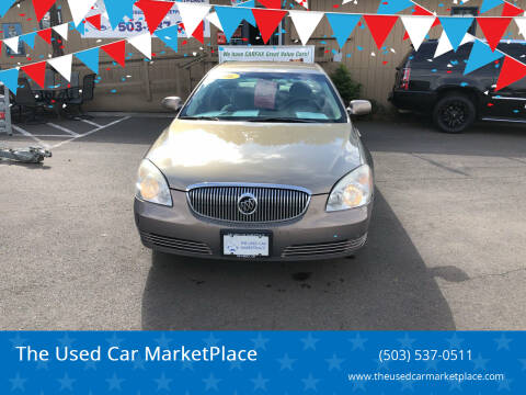 2006 Buick Lucerne for sale at The Used Car MarketPlace in Newberg OR