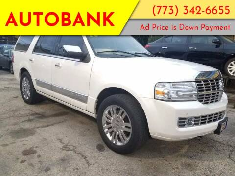 2010 Lincoln Navigator for sale at AutoBank in Chicago IL
