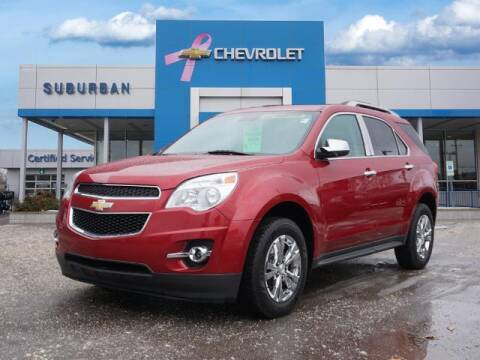 2015 Chevrolet Equinox for sale at Suburban Chevrolet of Ann Arbor in Ann Arbor MI