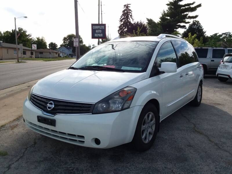 2008 Nissan Quest for sale at Fraziers Sturtevant Motors in Sturtevant WI