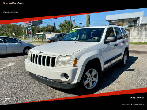 2006 Jeep Grand Cherokee for sale at Fitzgerald Auto Sales in Jacksonville FL