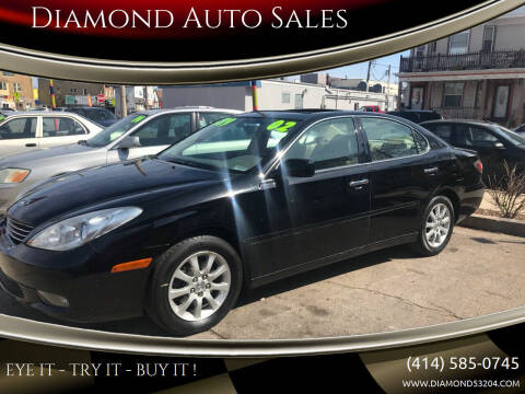 2002 Lexus ES 300 for sale at Diamond Auto Sales in Milwaukee WI