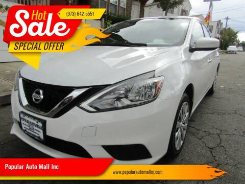 2017 Nissan Sentra for sale at Popular Auto Mall Inc in Newark NJ