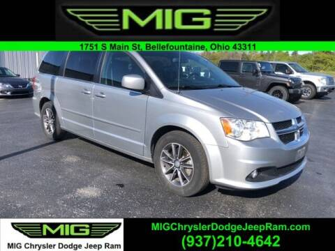 2017 Dodge Grand Caravan for sale at MIG Chrysler Dodge Jeep Ram in Bellefontaine OH