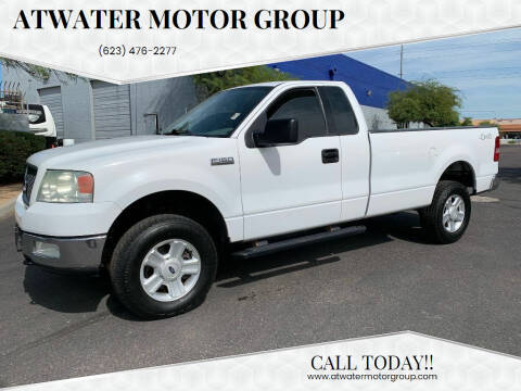 2004 Ford F-150 for sale at Atwater Motor Group in Phoenix AZ
