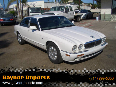 2002 Jaguar XJ-Series for sale at Gaynor Imports in Stanton CA