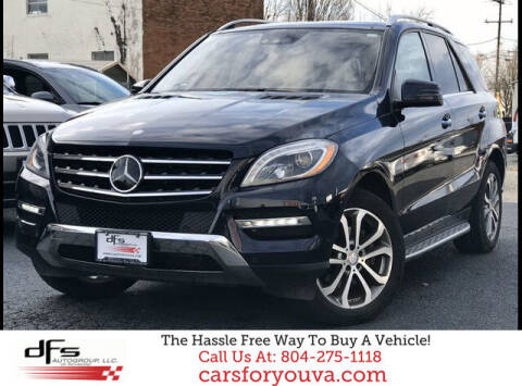 2013 Mercedes-Benz M-Class for sale at DFS Auto Group of Richmond in Richmond VA
