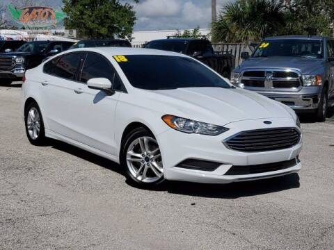 2018 Ford Fusion for sale at GATOR'S IMPORT SUPERSTORE in Melbourne FL