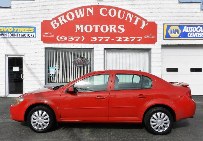 2008 Chevrolet Cobalt for sale at Brown County Motors in Russellville OH