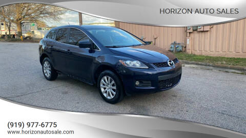 2011 Mazda CX-7 for sale at Horizon Auto Sales in Raleigh NC