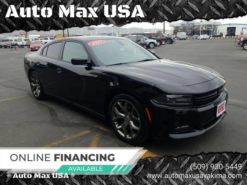 2017 Dodge Charger for sale at Auto Max USA in Yakima WA