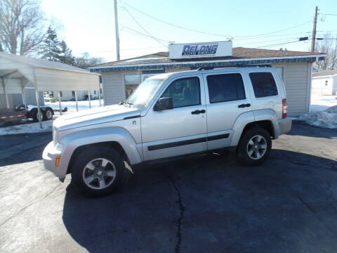 2008 Jeep Liberty for sale at DeLong Auto Group in Tipton IN