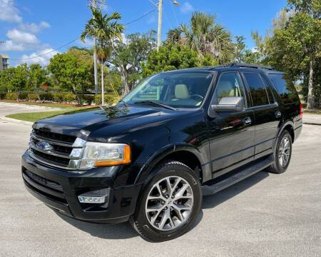 2016 Ford Expedition for sale at FIRST FLORIDA MOTOR SPORTS in Pompano Beach FL