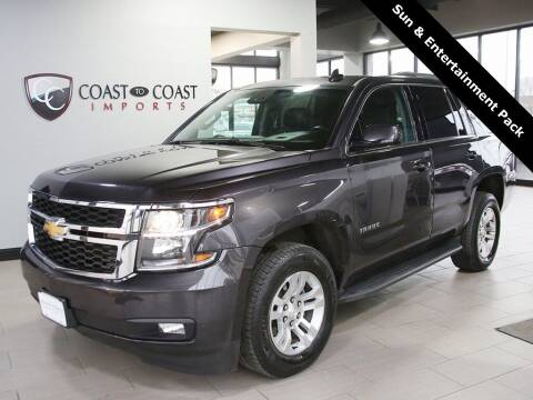 2017 Chevrolet Tahoe for sale at Coast to Coast Imports in Fishers IN