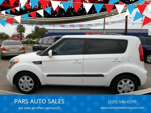 2013 Kia Soul for sale at PARS AUTO SALES in Tucson AZ