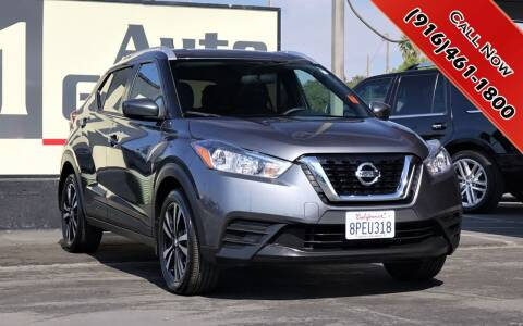 2019 Nissan Kicks for sale at H1 Auto Group in Sacramento CA
