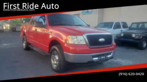 2007 Ford F-150 for sale at First Ride Auto in Sacramento CA