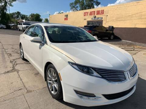 2013 Lincoln MKZ for sale at City Auto Sales in Roseville MI