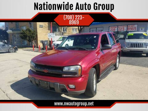 2003 Chevrolet TrailBlazer for sale at Nationwide Auto Group in Melrose Park IL