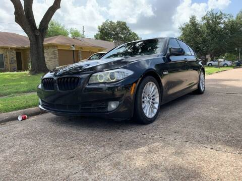 2011 BMW 5 Series for sale at Demetry Automotive in Houston TX