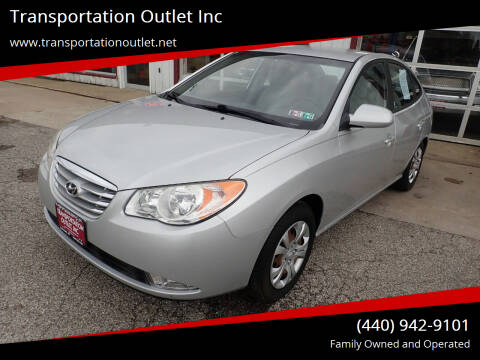 2010 Hyundai Elantra for sale at Transportation Outlet Inc in Eastlake OH