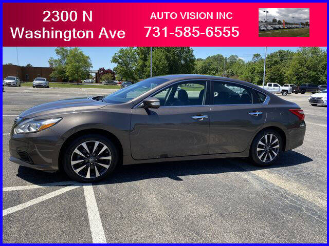 2017 Nissan Altima for sale at Auto Vision Inc. in Brownsville TN