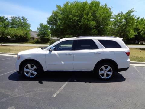 2011 Dodge Durango for sale at BALKCUM AUTO INC in Wilmington NC