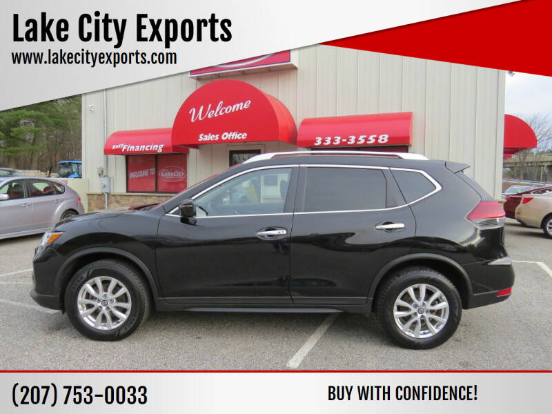 2018 Nissan Rogue for sale at Lake City Exports - Lewiston in Lewiston ME