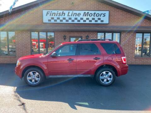2011 Ford Escape for sale at FINISHLINE MOTORS in Canton OH